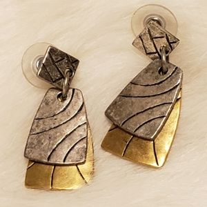 Vintage Signed Chicos Earrings